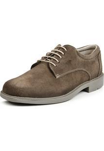 Sapato Calprado Camurca Rato