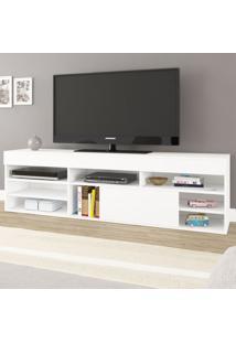 Rack Para Tv Até 55 Polegadas Celta Branco - Mobilarte