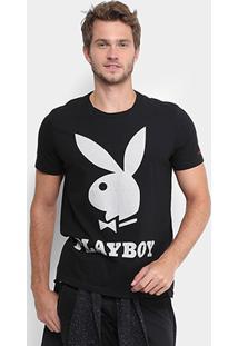 Camiseta Ellus Estampada Playboy Masculina - Masculino