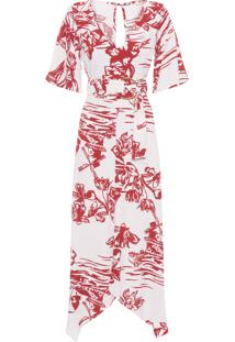 Vestido Midi Lisse - Rosa