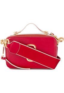 Marc Jacobs Large Snapshot Crossbody Bag - Vermelho