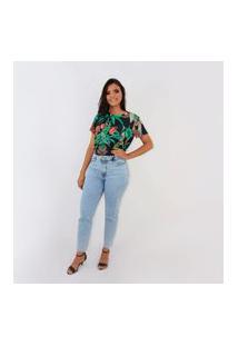 Camiseta T-Shirt Estampada Fashion Colcci Oficial De Malha Estampado