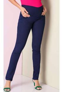 Calça Jeans Skinny Básica Azul