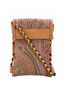 Etro Floral Pattern Crossbody Bag - Verde