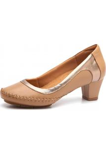Scarpin Doctor Shoes 787 Amendoa
