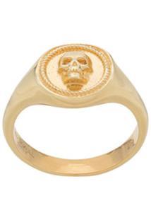 Northskull Anel Atticus Com Caveira - Dourado