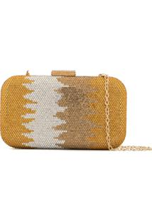 The Chic Initiative Clutch 'Aida' - Dourado
