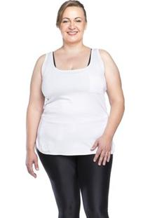 Regata Fitness Plus Size Tocket - Preta - Ps - Feminino