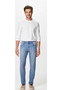 Calça Jeans Reta Cintura Média Malwee