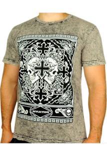Camiseta Guilt Preta Affliction - Masculino