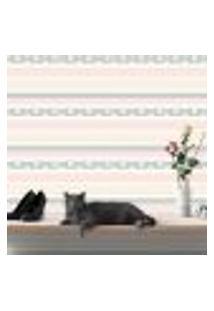 Papel De Parede Autocolante Rolo 0,58 X 5M - Flores Bolinhas Listrado Renda 251744206