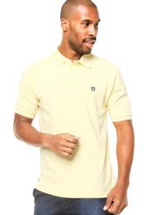 Camisa Polo Manga Curta Mr. Kitsch Basic Amarela