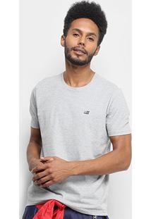 Camiseta Ellus 2Nd Floor Co Basic Masculina - Masculino-Cinza Claro