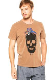 Camiseta Ellus Dick Vigarista Marrom
