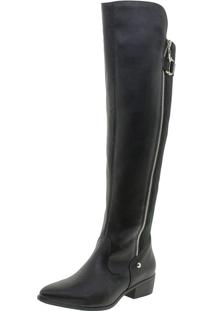 Bota Feminina Over The Knee Via Marte - 19205 Preto 34