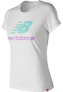 Camiseta De Manga Curta New Balance Basic Feminino - Feminino