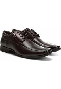 Sapato Social Couro Ferricelli Genebra Masculino - Masculino-Marrom Claro