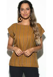 Blusa Listra Deserto Amarela