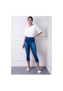 Calça Sisal Jeans Skinny Azul