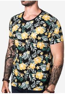 Camiseta Hermoso Compadre Masculina - Masculino-Preto