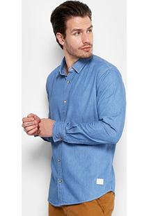 Camisa Jeans Reserva Regular Forim Masculina - Masculino
