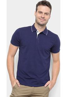 Camisa Polo Watkins&Krown Elastano Masculina - Masculino