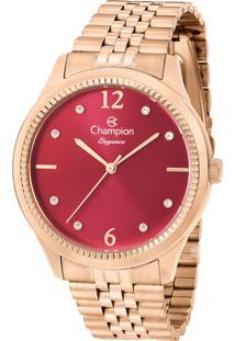 Relógio Champion Feminino Elegance Cn25770I