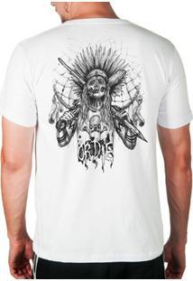 Camiseta Índio Caveira Skate Or Die Masculina - Masculino