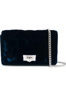 Jimmy Choo Clutch Helia - Azul