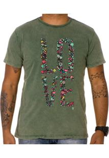 Camiseta Use Thuco My Love Verde Estonado