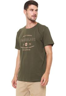 Camiseta Timberland Built To Enjoy Verde