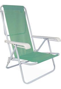 Cadeira Reclinável Aço 8 Posições Anis Mor