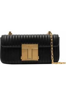 Tom Ford Small Shoulder Bag - Preto