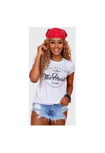 T-Shirt The Hustle Branco