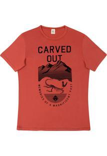 Camiseta Masculina Com Estampa Frontal