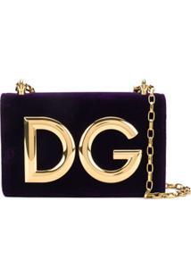 Dolce & Gabbana Bolsa Tiracolo 'Dg Millennials' - Roxo