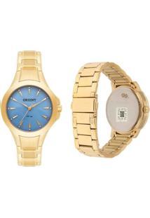 Relógio Orient Fgss0084 A1Kx Dourado