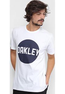 Camiseta Oakley Circle Tee Estampada Masculina - Masculino
