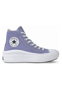 Tênis Converse Chuck Taylor All Star Move Seasonal Hi Lilás Ct17810002.37