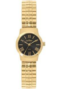Relógio Condor Mini Feminino - Feminino-Dourado