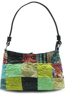 Bolsa Becky Clover Em Patchwork Original - Multicolorido - Feminino - Dafiti