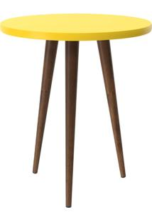 Mesa Lateral Patrimar Legs 110014003 Amarelo Se