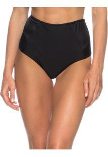 Calcinha Hot Pants Recorte Lua Morena Preto