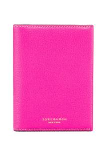 Tory Burch Carteira Color Block - Rosa