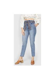 Calça Jeans Forum Slim Com Faixa Azul