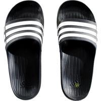 3f9bc59c053f Chinelo Adidas Duramo Slide Preto E Branco