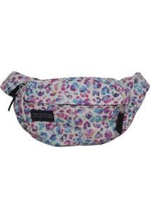 Pochete Shoulder Bag Jansport Fifth Avenue 2,5 Litros - Unissex-Branco