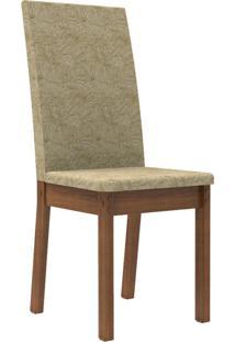 Kit 2 Cadeiras 4248 Madesa Rustic/Imperial Marrom - Tricae