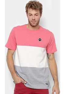 Camiseta Element Felix Masculina - Masculino-Rosa Claro