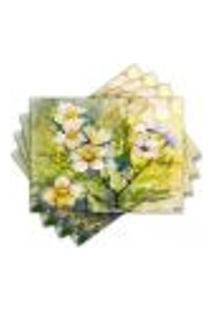 Jogo Americano - Flores Com 4 Peças - 856Jo